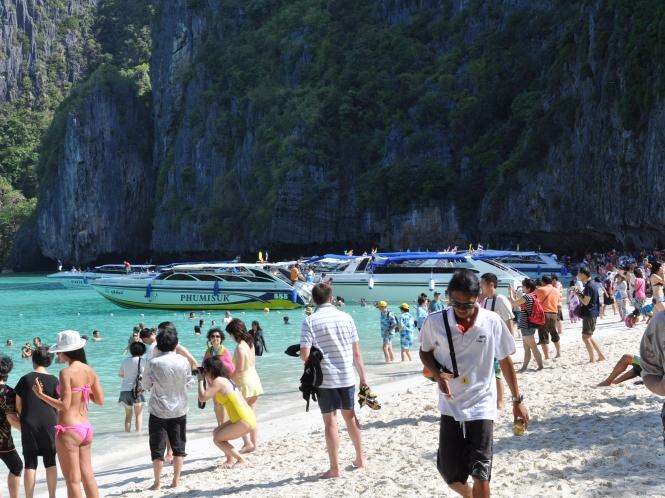 Phi Phi-öarna ut i verkligheten