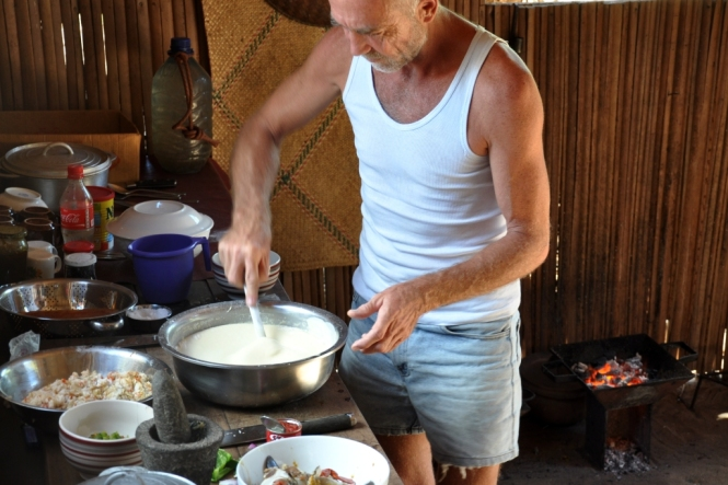 Restaurangkök a la Madagaskar