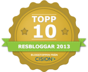 Största Reseblogg 2013