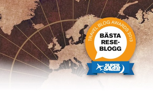 Mary af Rövarhamn är en av finalisterna i Travel Blog Awards.