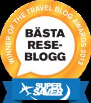 Symary.com har korats till Sveriges bästa reseblogg 2013