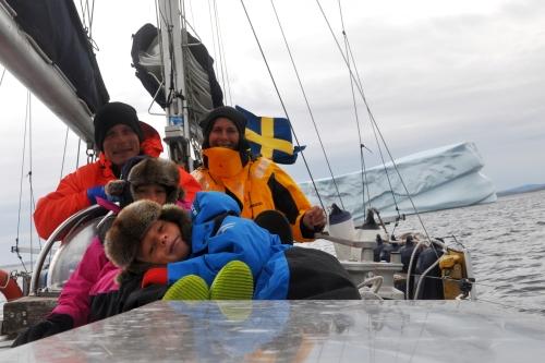 På väg mot Grönland!