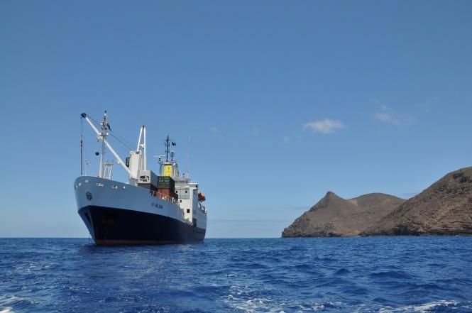 RMS St Helena, snart ett minne blott.