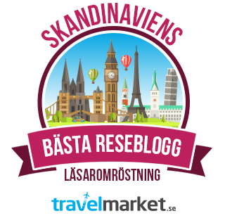 Skandinaviens bästa reseblogg 2016